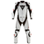 Dainese Laguna Seca Two Piece Suit - White/Black/Black