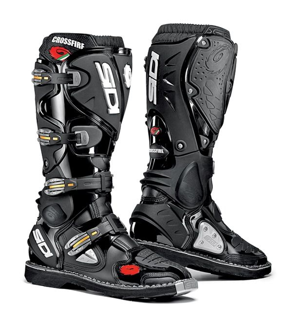 sidi crossfire ta boots revzilla. Black Bedroom Furniture Sets. Home Design Ideas