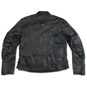 Motorcycle Street Gear Special Section Men Genuine Black Leather Motorcycle Jacket Size 5 Xl