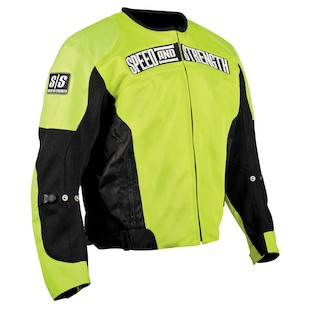 Speed and Strength Trial By Fire Mesh Jacket - Hi Viz