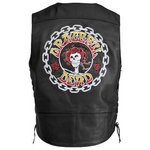 River Road Grateful Dead Color Logo Vest