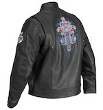 River Road Grateful Dead Uncle Sam Skeleton Biker Jacket