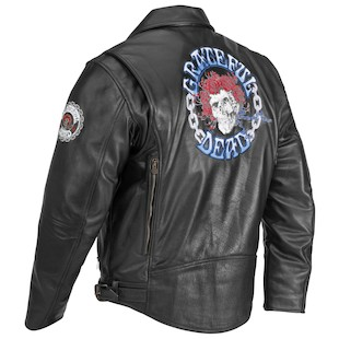 River Road Grateful Dead Skull & Roses Color Jacket