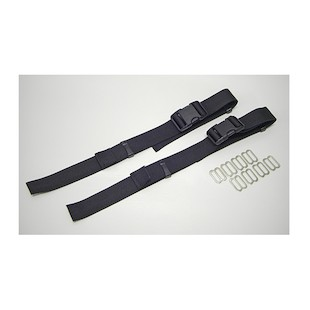 Wolfman Saddle Bag Strap Kit for Large Rolie Bags