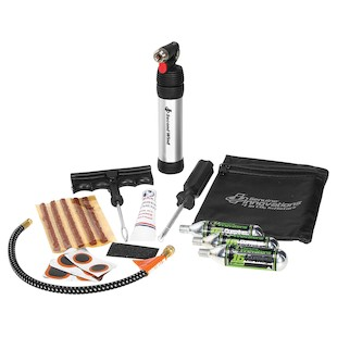 Genuine Innovations ATV Tire Repair And Inflation Kit Deluxe
