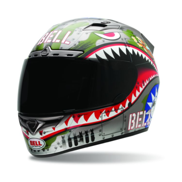 Bell Vortex Flying Tiger Helmet (Size MD Only)