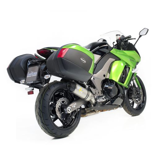 Leo Vince Lv One Evoii Slip On Exhaust Kawasaki Ninja Stainless Steel Zoom on Leo Vince Exhaust Motorcycle From Leovince Revzilla