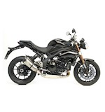 Leo Vince Factory R EVO II Slip-On Exhaust Triumph Speed Triple 2011-2012