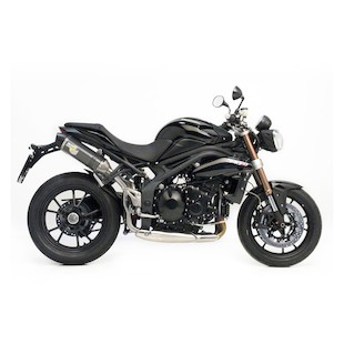 Leo Vince LV-One EVO II Slip-On Exhaust Triumph Speed Triple/R 2011-2013