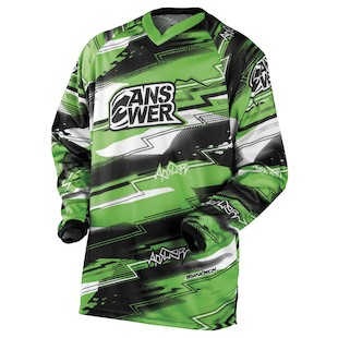 Answer Syncron Jersey (Color: Green / Size: SM)
