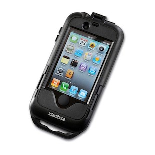 Interphone iPhone 4/4S Case for Non-Tubular Handlebars