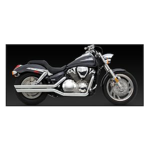 Vance & Hines Big Shots Staggered Exhaust Honda VTX1300S/VTX1300R/VTX1300C 2003-2009