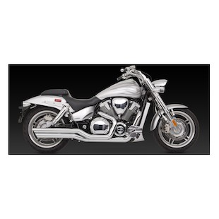 Vance & Hines Big Shots Staggered Exhaust Honda VTX1800C/F 2002-2008