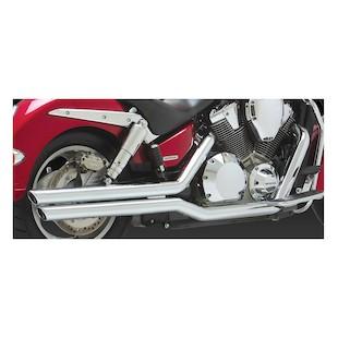 Vance & Hines Big Shots Staggered Exhaust for Honda VTX1800R/VTX1800N Retro 2002-2008