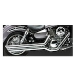 Vance & Hines Big Shots Staggered Exhaust for Vulcan VN1600 2003-2008