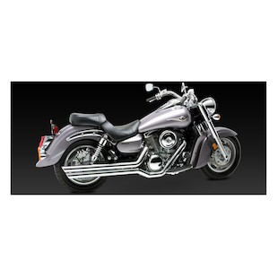 Vance & Hines Big Shots Staggered Exhaust For Kawasaki Vulcan VN1600 2003-2008