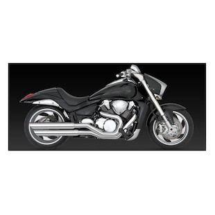 Vance & Hines Big Shots Staggered Exhaust Suzuki Boulevard M109R 2006-2015