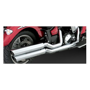 Vance & Hines Big Shots Staggered Exhaust For Yamaha XVS1300 V-Star 2007-2011