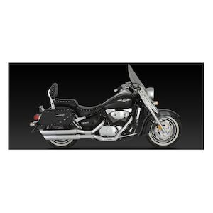 Vance & Hines Big Shots Staggered Exhaust Suzuki Boulevard C90 2005-2009