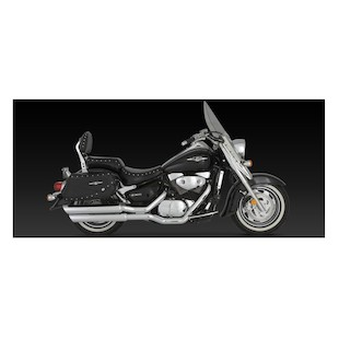 Vance & Hines Big Shots Staggered Exhaust For Suzuki Boulevard C90 2005-2009