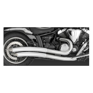 Vance & Hines Big Radius 2-Into-2 Exhaust for V-Star XVS950 2009-2011