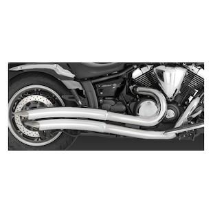 Vance & Hines Big Radius 2-Into-2 Exhaust Yamaha V-Star XVS950 2009-2015