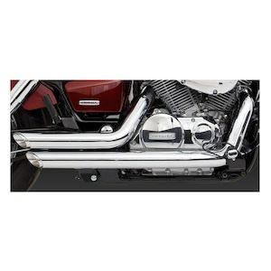 Vance & Hines Shortshots Staggered Exhaust Honda Shadow 750 2004-2018