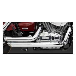 Vance & Hines Shortshots Staggered Exhaust For Shadow 750 2004-2014