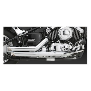 Vance & Hines Shortshots Staggered Exhaust V-Star 650 2004-2010