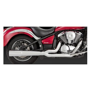 Vance & Hines Pro Pipe Chrome Exhaust for Vulcan VN900 2006-2011