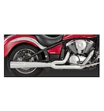 Vance & Hines Pro Pipe Chrome Exhaust Vulcan VN900 2006-2015