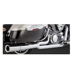 Vance & Hines Pro Pipe Chrome Exhaust for Nomad/Vaquero/Voyager VN1700 2009-2011