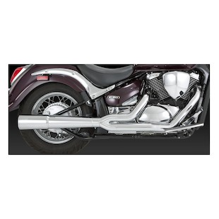 Vance & Hines Pro Pipe Chrome Exhaust for Boulevard C50/M50 2005-2009