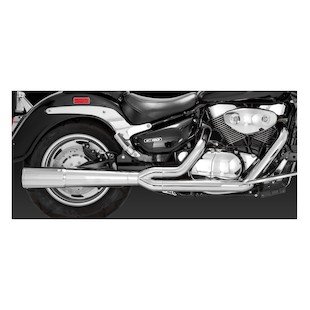 Vance & Hines Pro Pipe Chrome Exhaust For Boulevard C90 2005-2009
