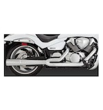 Vance & Hines Pro Pipe Chrome Exhaust for Boulevard M109R 2006-2011