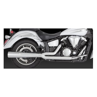 Vance & Hines Pro Pipe Chrome Exhaust for V-Star XV1300 2006+
