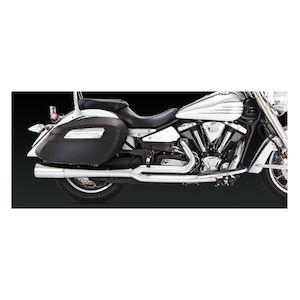 Vance & Hines Pro Pipe Chrome Exhaust Yamaha XV1900 Roadliner/Stratoliner 2006-2014