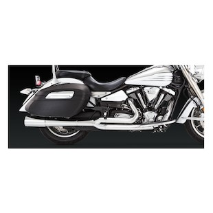 Vance & Hines Pro Pipe Chrome Exhaust For Yamaha XV1900 Roadliner/Stratoliner 2006-2014