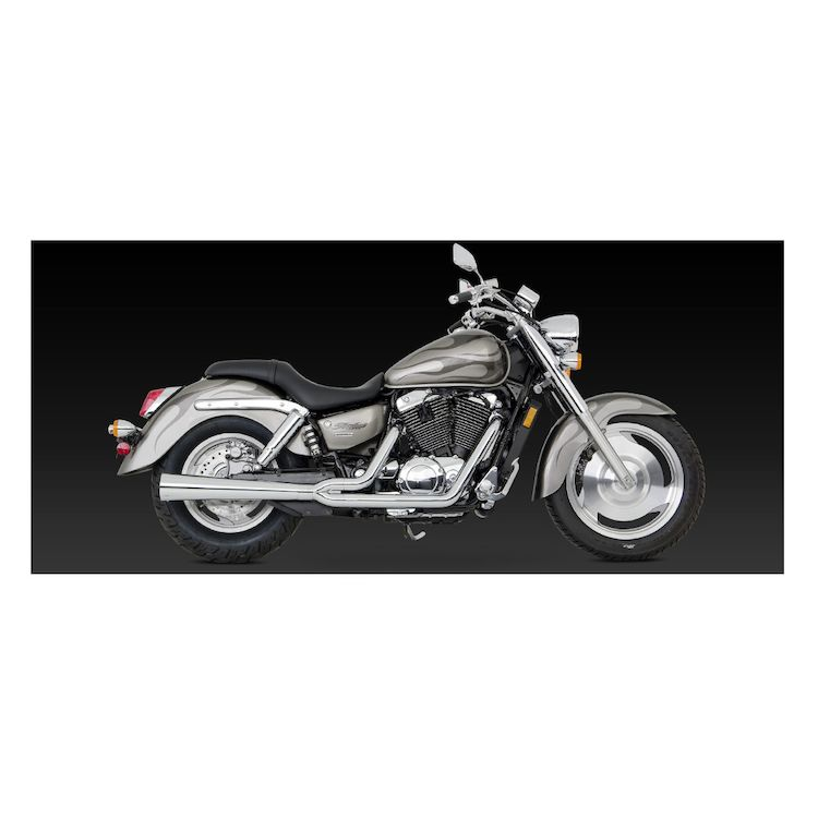 Vance & Hines 2-Into-1 Pro Pipe HS Exhaust Honda Shadow Sabre VT1100C2 2000-2007