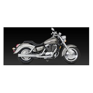 Vance & Hines 2-Into-1 Pro Pipe HS Exhaust For Honda Shadow Sabre VT1100 2000-2007