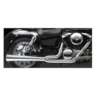 Vance & Hines 2-Into-1 Pro Pipe HS for Vulcan Classic VN1500D/E 1996-2008
