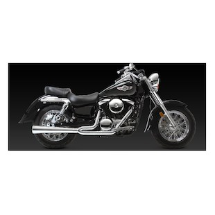 Vance & Hines 2-Into-1 Pro Pipe HS Exhaust For Kawasaki Vulcan Classic VN1500D/E 1996-2008