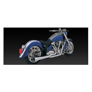 Vance & Hines 2-Into-1 Pro Pipe HS Exhaust For Yamaha Road Star XV1600 1999-2003
