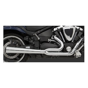 Vance & Hines 2-Into-1 Pro Pipe HS for Road Star Warrior XV1700 2002-2008
