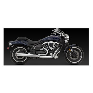 Vance & Hines 2-Into-1 Pro Pipe HS Exhaust For Yamaha Road Star Warrior XV1700 2002-2008