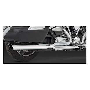 Vance & Hines Touring 2-Into-1 Exhaust for Stratoliner/Roadliner XV1900 2006-2011
