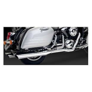 Vance & Hines Bagger Slash-Cut Dual Exhaust for VN1500G/VN1600 Nomad 1998-2008