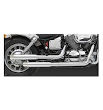 Vance & Hines Cruzers Exhaust for Shadow Spirit VT750DC 2001-2007