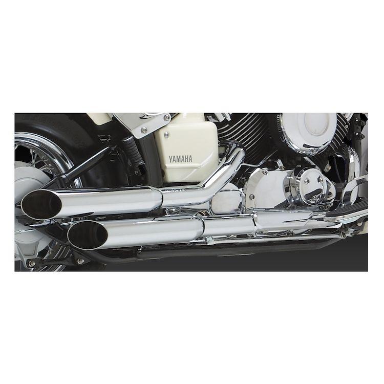Vance & Hines Cruzers Exhaust Yamaha V-Star XV650 1998-2003