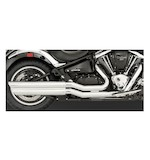 Vance & Hines Powershots Exhaust for Vulcan VN2000 2004-2009